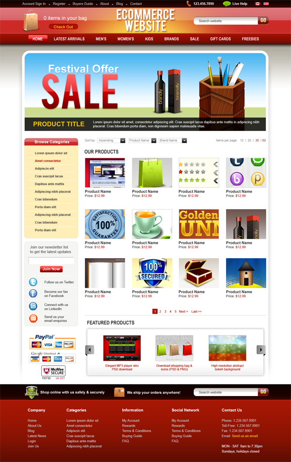 ecommerce-psdtemplate-preview