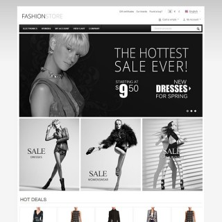 CS Cart Website Themes for Fashion Stores