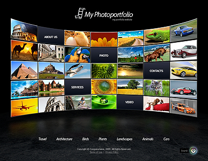 The Photo Portfolio theme's image