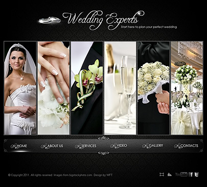 Wedding experts template free from 08 14 08 20 2015 for Best wedding photography websites