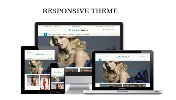 Great Shop responsive bootstrap theme' image
