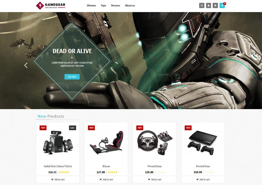 Game Gear Presta Shop