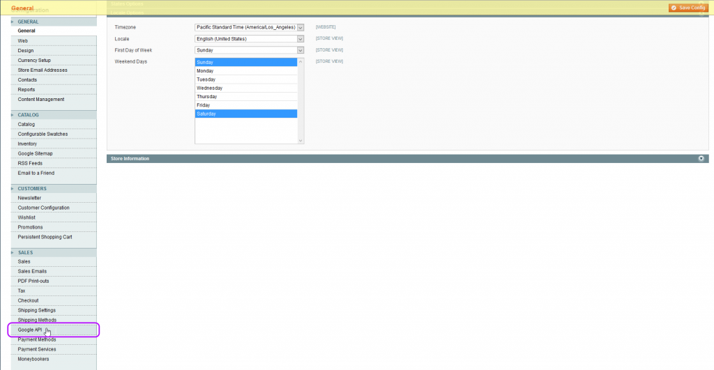 Magento System - Configuration - big image