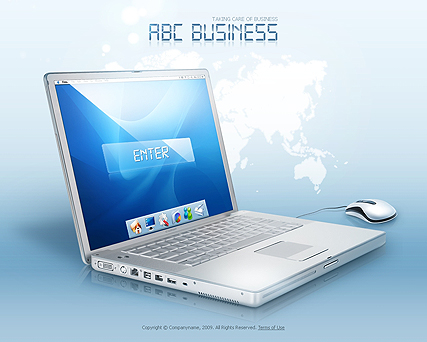 ABC Business template image