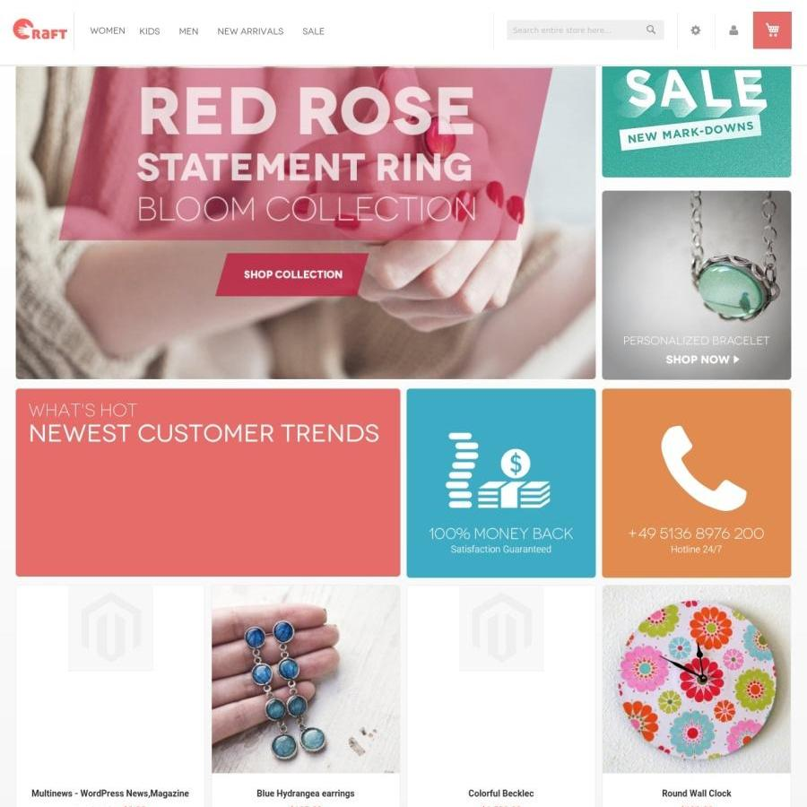 Crafts Magento theme