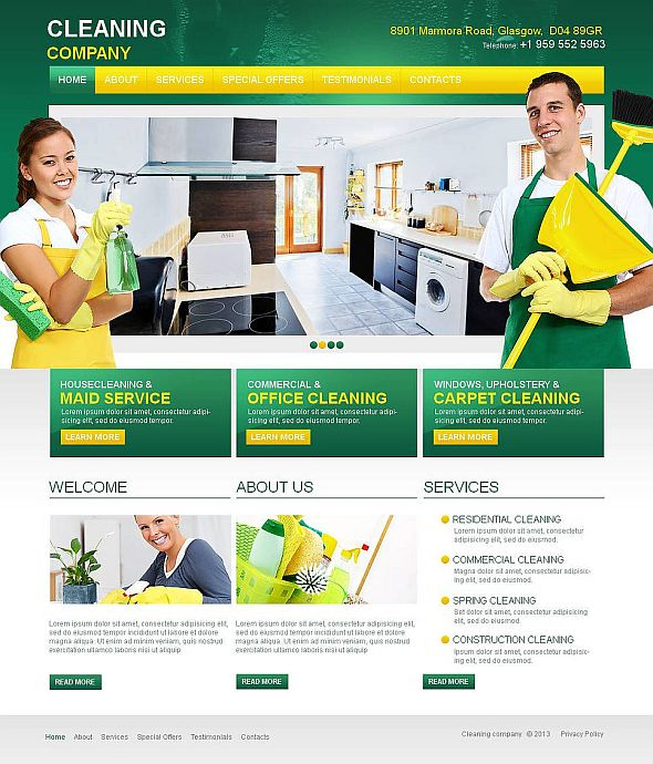 Cleaning-Company-template