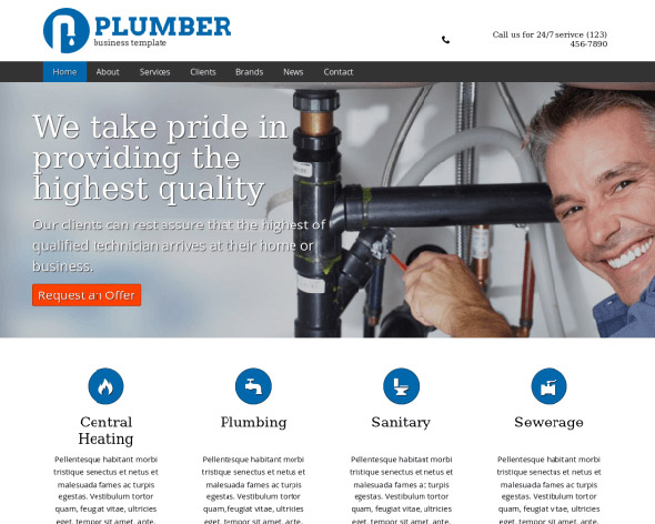 Plumber template nexus