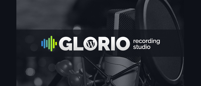Glorio WordPress website template