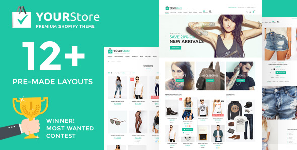 YourStore Shopify theme image