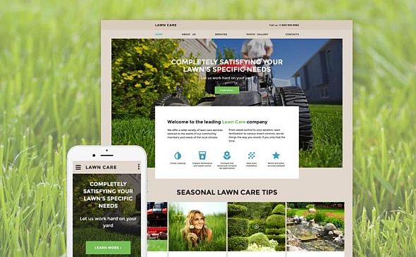 Lawn Care theme image