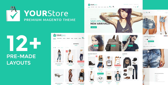 YourStore theme for Magento