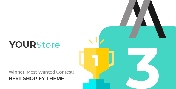 Shopify theme YOURSTORE