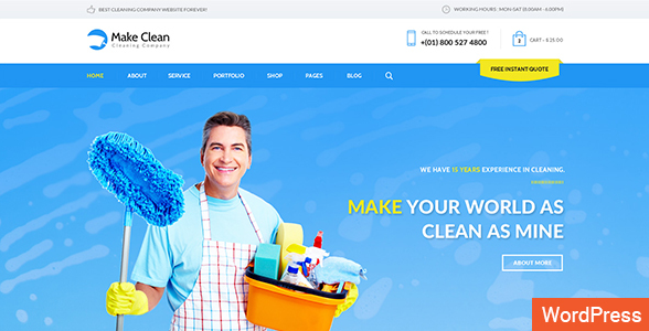 Make Clean WordPress