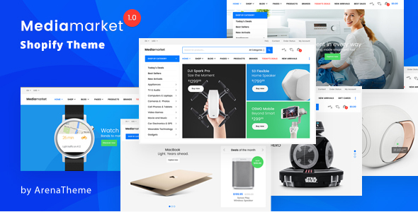 Mediamarket Electronics theme