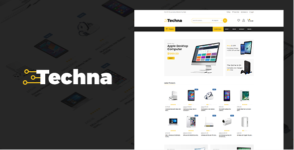 Techna - Electronics WordPress theme