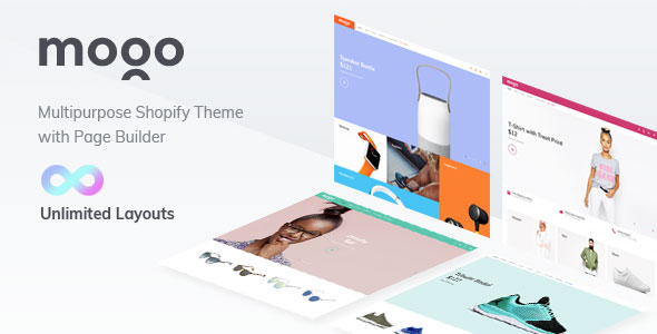 Mogo Clothing Shopify website theme
