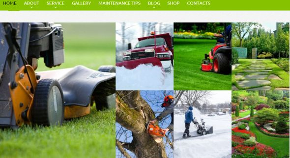 Lawn Care Services Theme