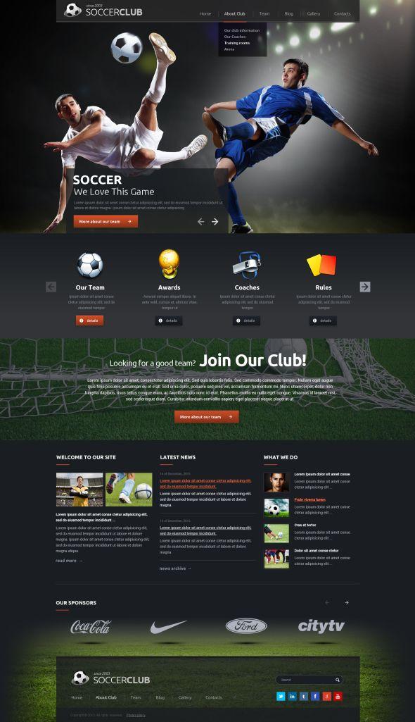 Football template