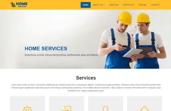 10 best services website templates - premium