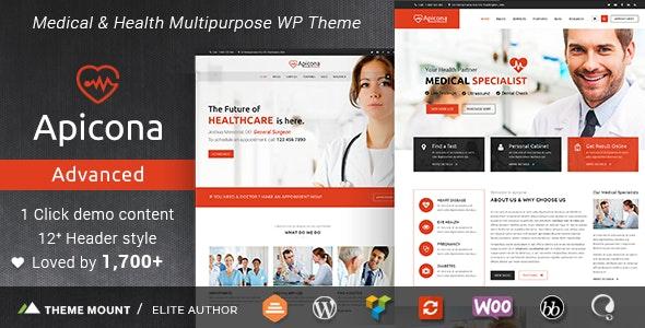 Apicona WordPress website theme