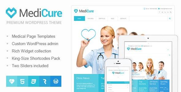 WordPress theme - Medicure