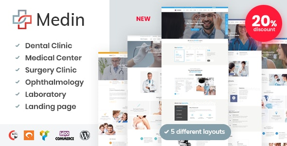 Medical Center WordPress template
