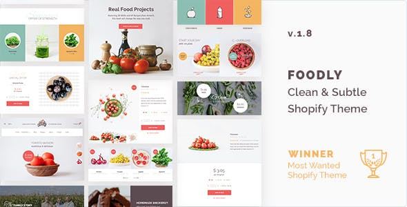 Image - Foodly Shopify theme