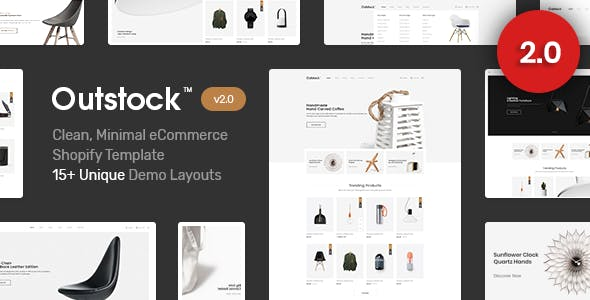 Outstock Shopify theme