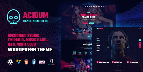 Acidum - Night Club theme