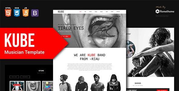 Kube - Musician template