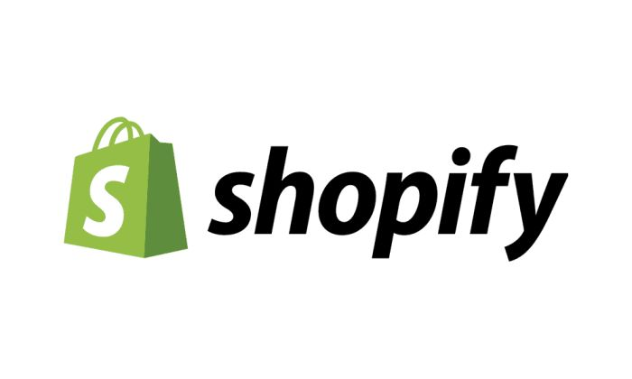 The image of Shopify logo