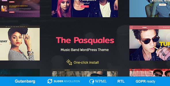 Pasquales WordPress theme