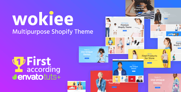 Image - Wokiee Multipurpose Shopify theme