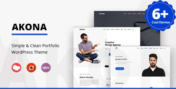 Image - Akona Multipurpose theme