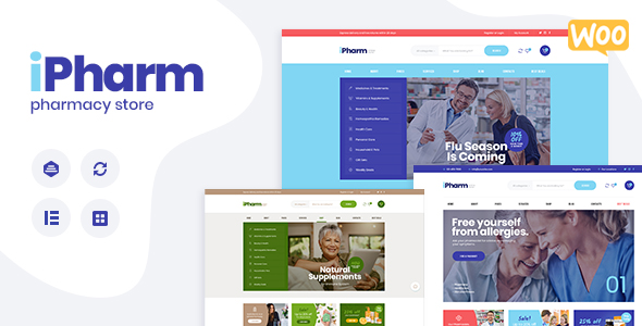IPharm-Online Pharmacy theme