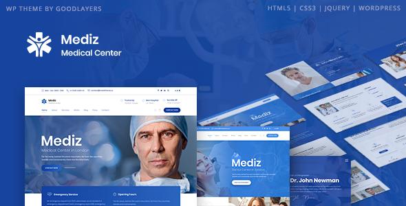 Image - Mediz -WordPress theme