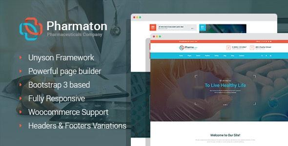 Pharmaton WordPress theme