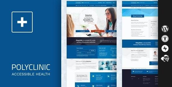 Polyclinic WordPress theme