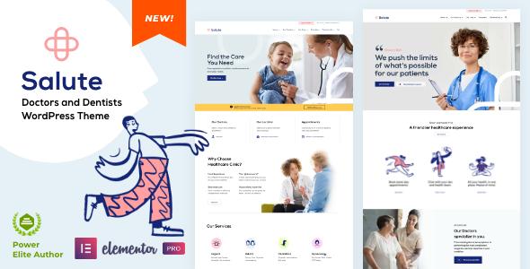 Salute Medical WordPress theme