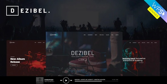 Dezibel WordPress theme