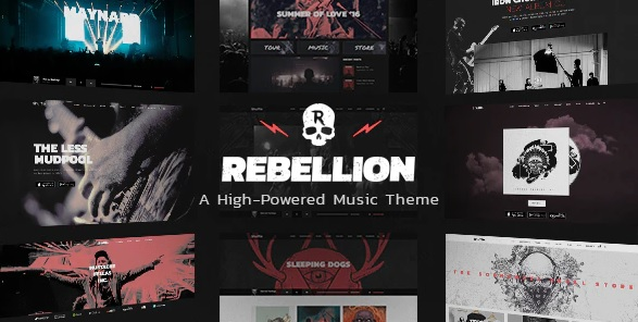 Rebellion WordPress theme