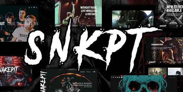 Snakepit WordPress theme