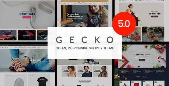 Gecko Shopify theme