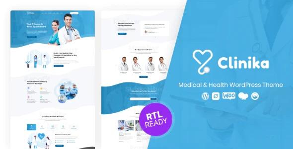 Clinica WordPress theme