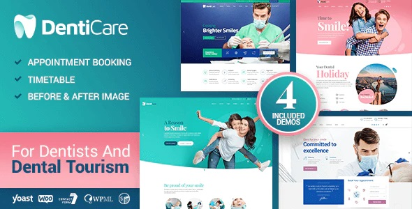 Denticare Dentist WordPress theme