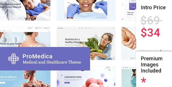 ProMedica WordPress theme